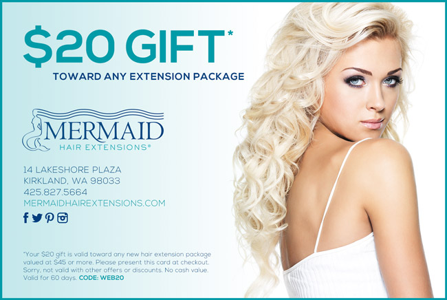 Mermaid Hair Extensions is greater Seattle's top salon specializing in hair extensions
